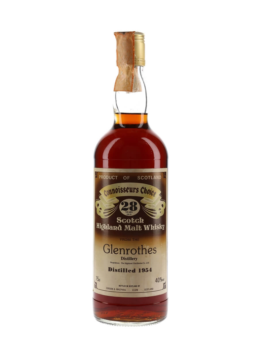 Glenrothes 1954 / 28 Year Old / Sherry Cask / Connoisseurs Choice