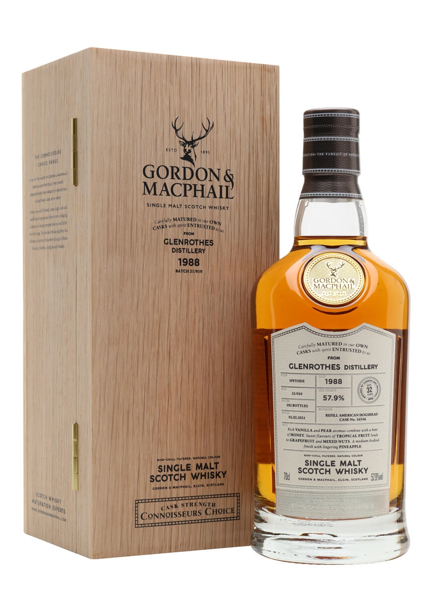 Glenrothes 1988 / 32 Year Old / Connoisseurs Choice