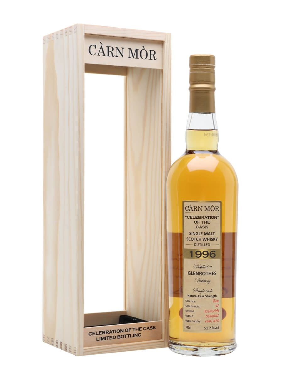 Glenrothes 1996 / 21 Year Old / Carn Mor