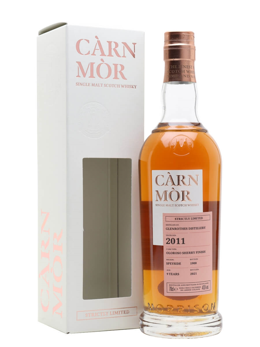 Glenrothes 2011 / 9 Year Old / Sherry Finish / Carn Mor Strictly Limited