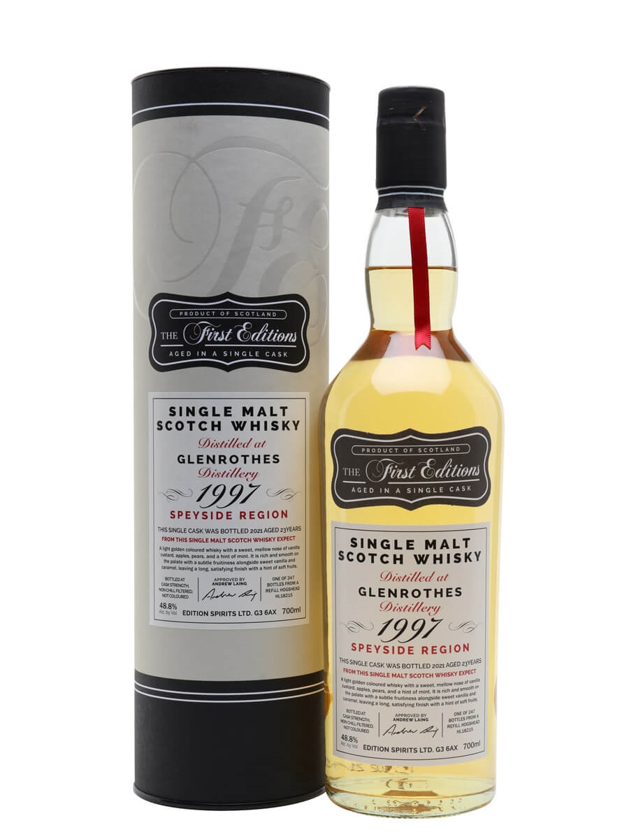 Glenrothes 1997 / 23 Year Old / First Editions