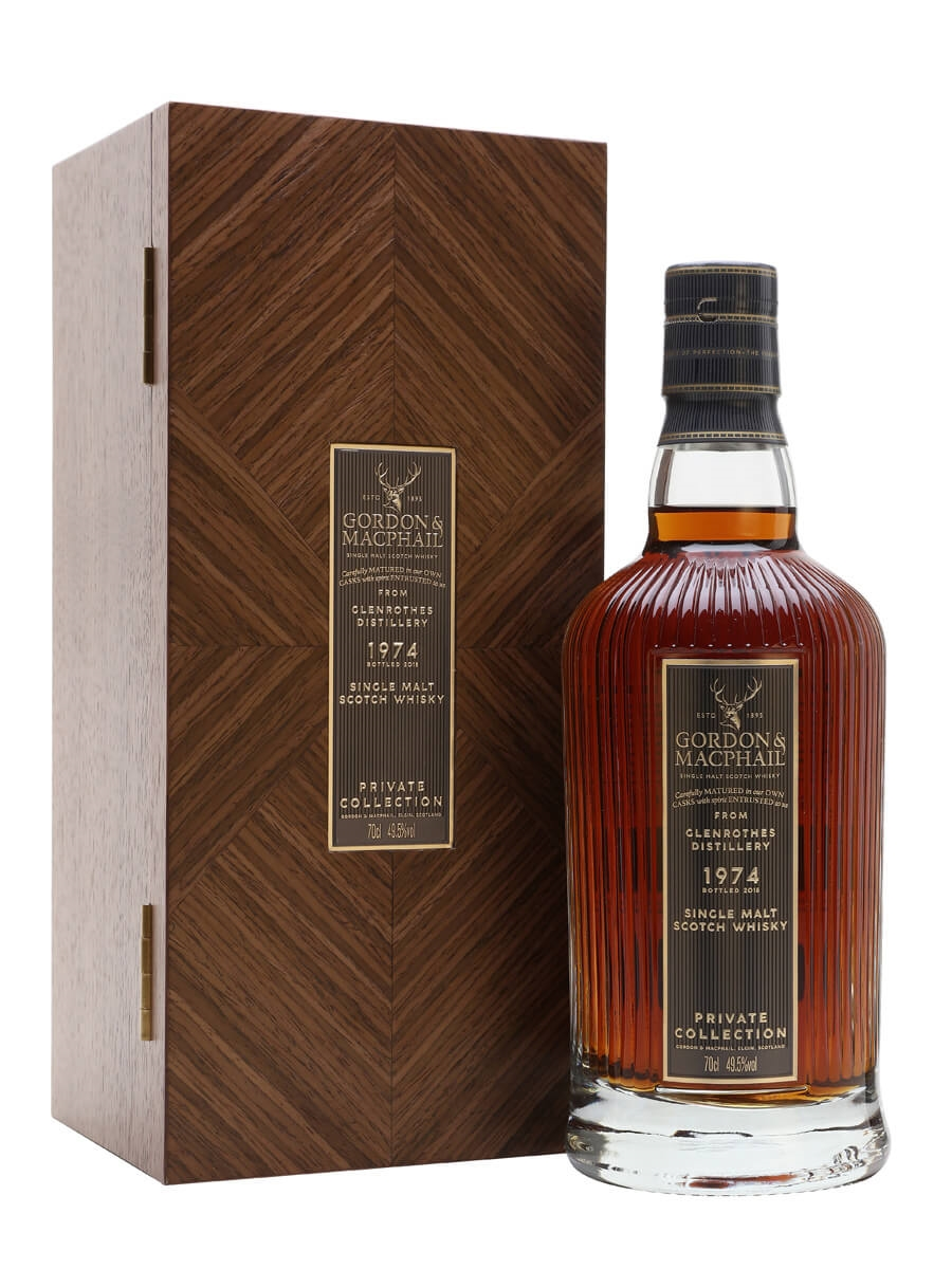 Glenrothes 1974  / 44 Year Old / G&M Private Collection