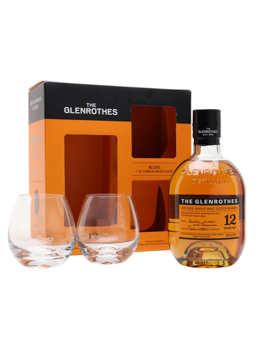 Glenrothes 12 Year Old / Glass Pack
