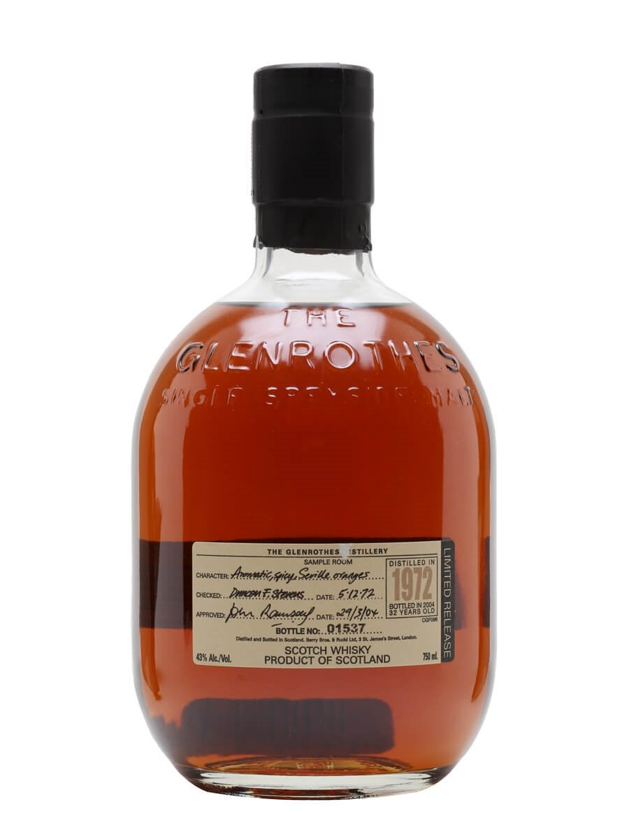 Glenrothes 1972 / 32 Year Old