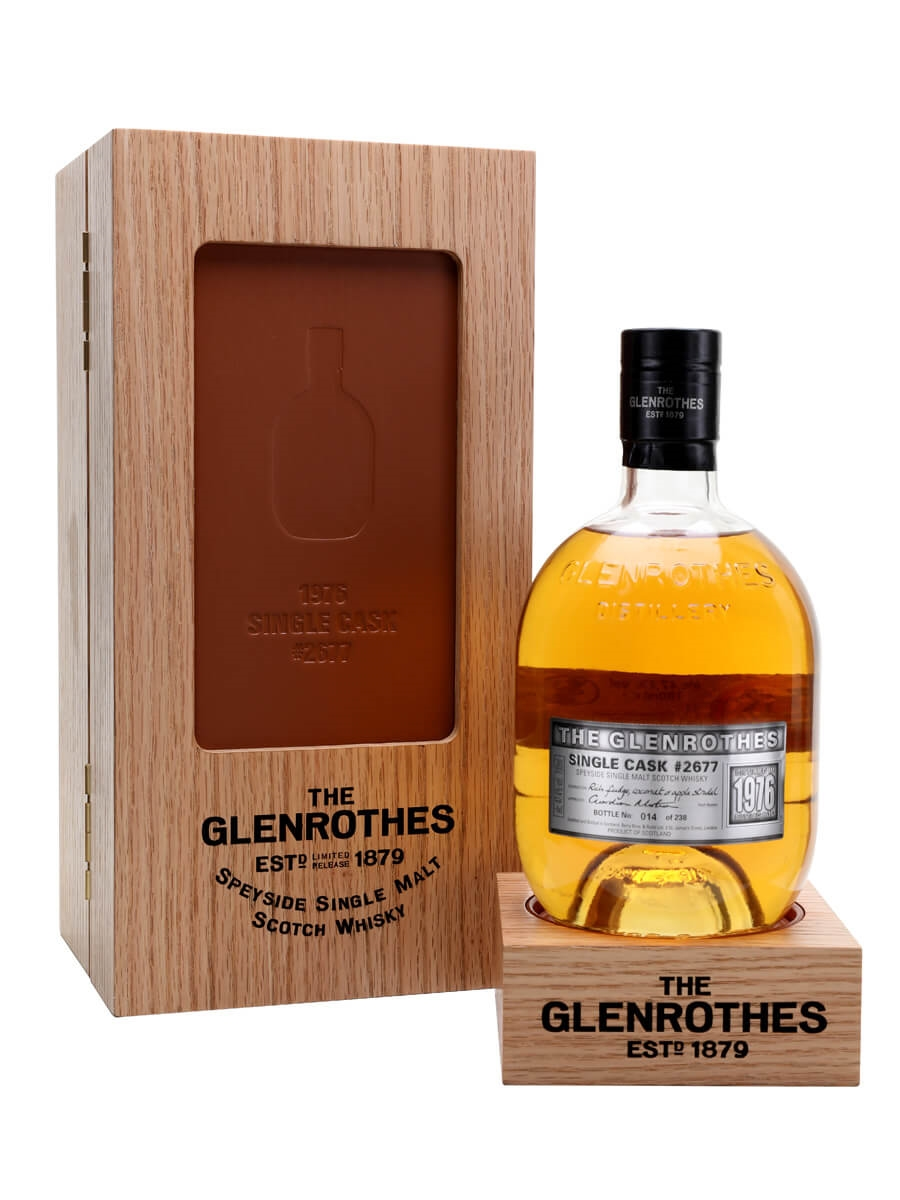 Glenrothes 1976 / Single Cask #2677 / UK Exclusive