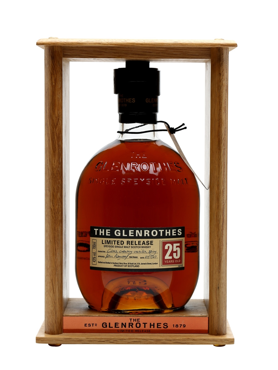 e41ea87ccff Glenrothes 25 Year Old Bot.2007. 70cl   43%. Speyside Single Malt Scotch  Whisky ...