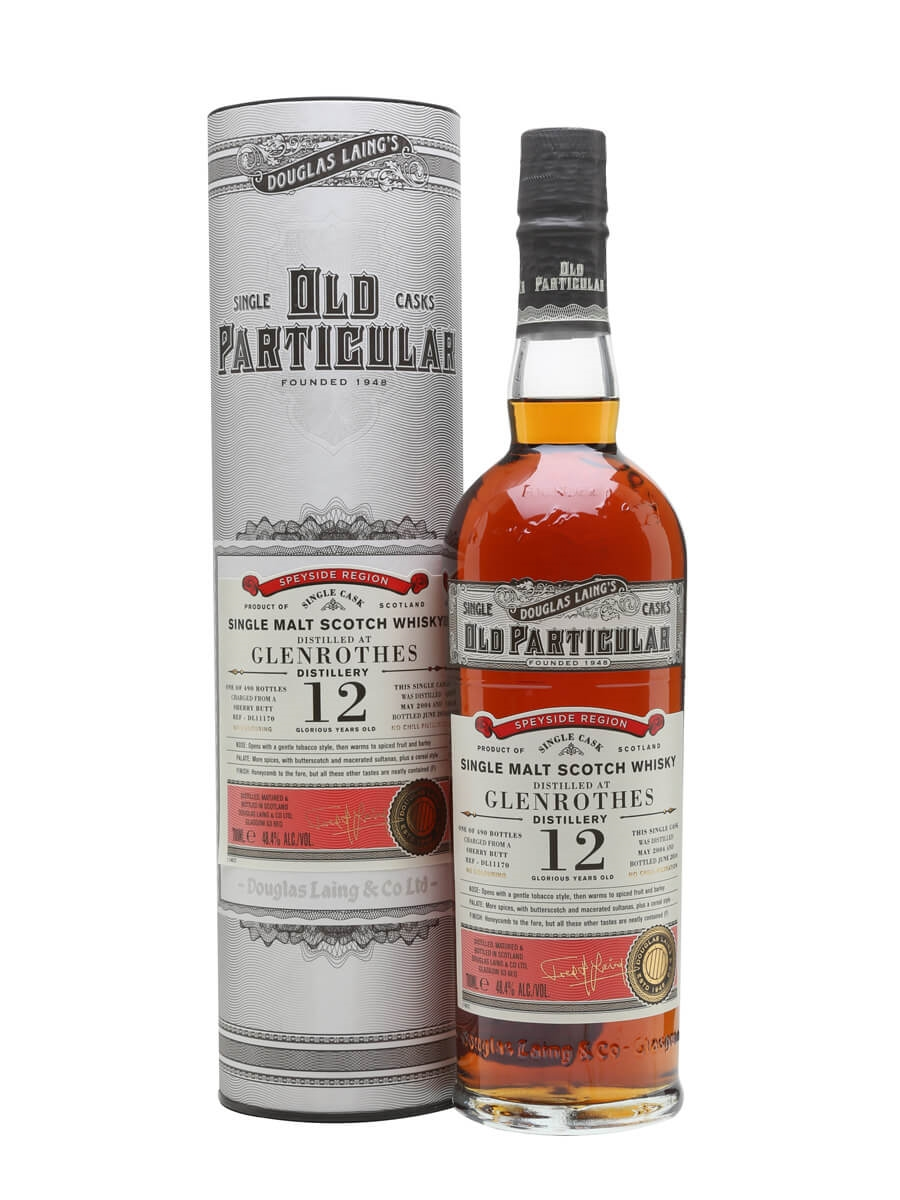Glenrothes 2004 / 12 Year Old / Old Particular