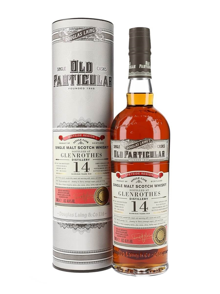 Glenrothes 2005 / 14 Year Old / Sherry Matured / OP