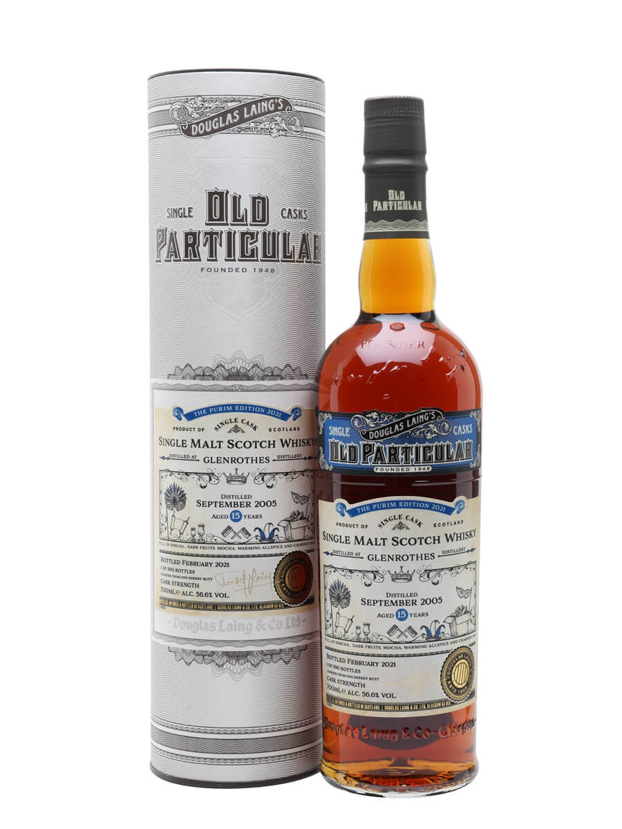Glenrothes 2005 / 15 Year Old / Old Particular Purim Edition 2021