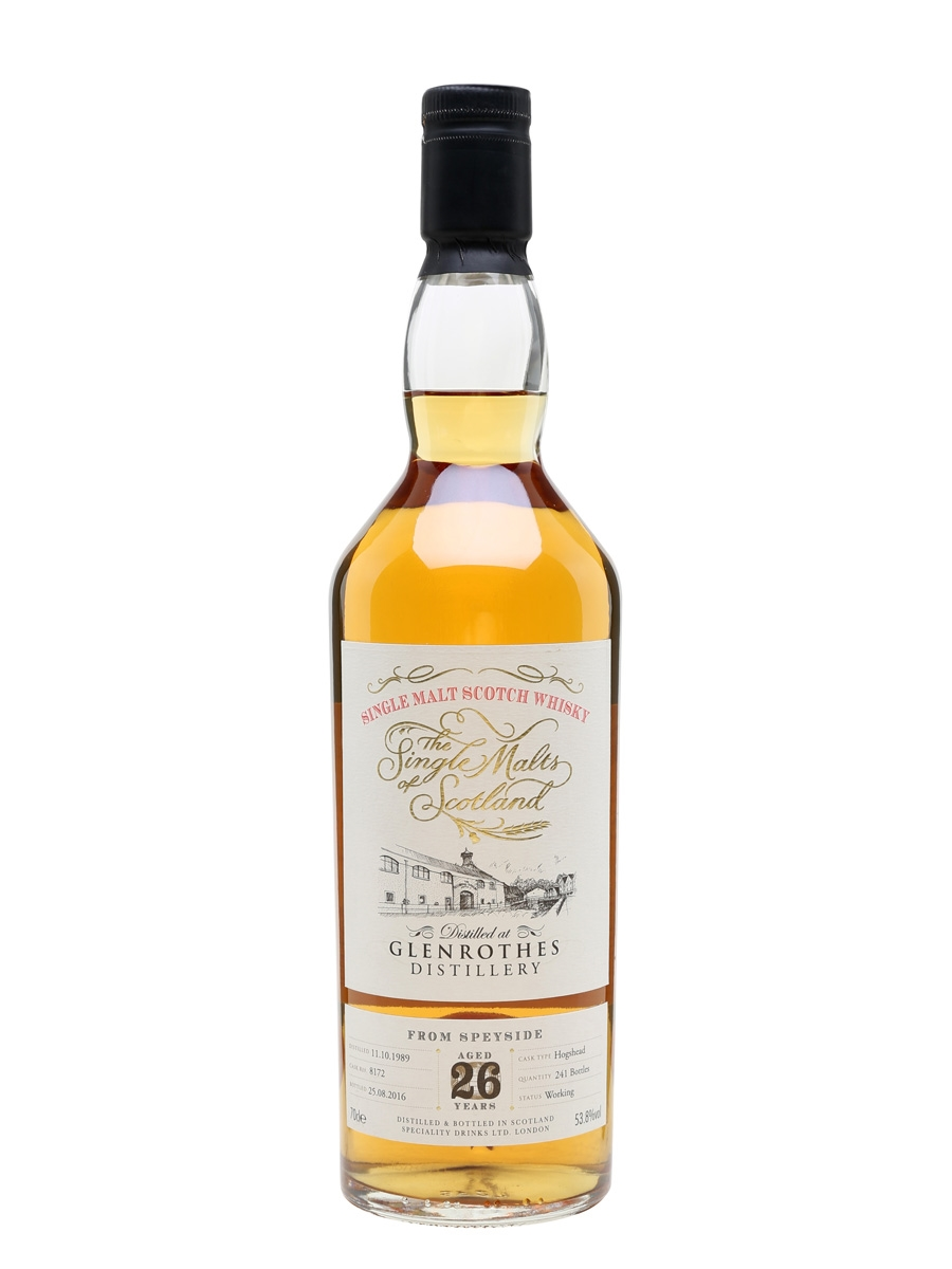 Glenrothes 1989 / 26 Year Old / Single Malts of Scotland