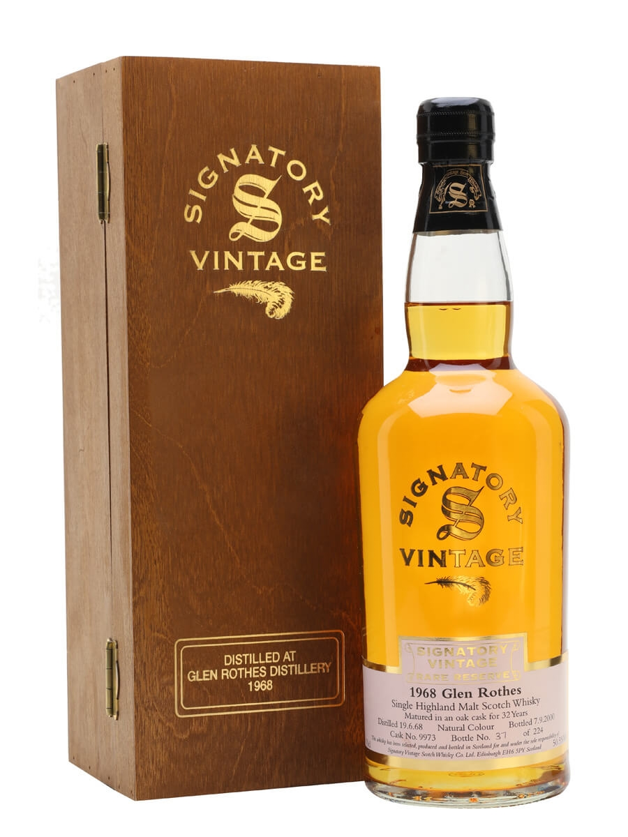 Glenrothes 1968 / 32 Year Old / Signatory