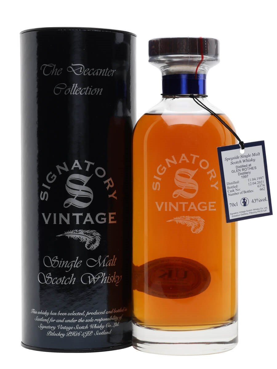 Glenrothes 1997 / 24 Year Old / Signatory