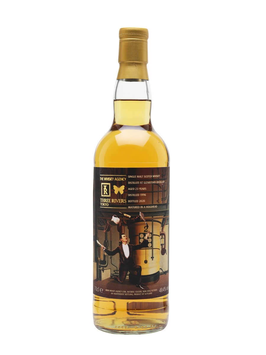 Glenrothes 1996 / 23 Year Old / Three Rivers & The Whisky Agency