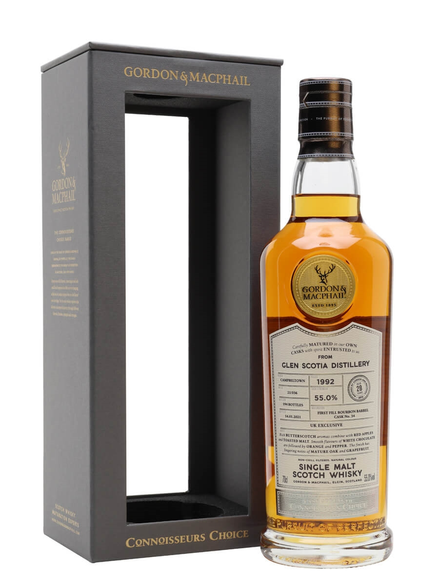 Glen Scotia 1992 / 28 Year Old / Connoisseurs Choice