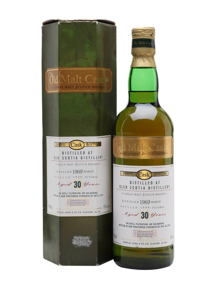 Glen Scotia 1969 / 30 Year Old / Old Malt Cask