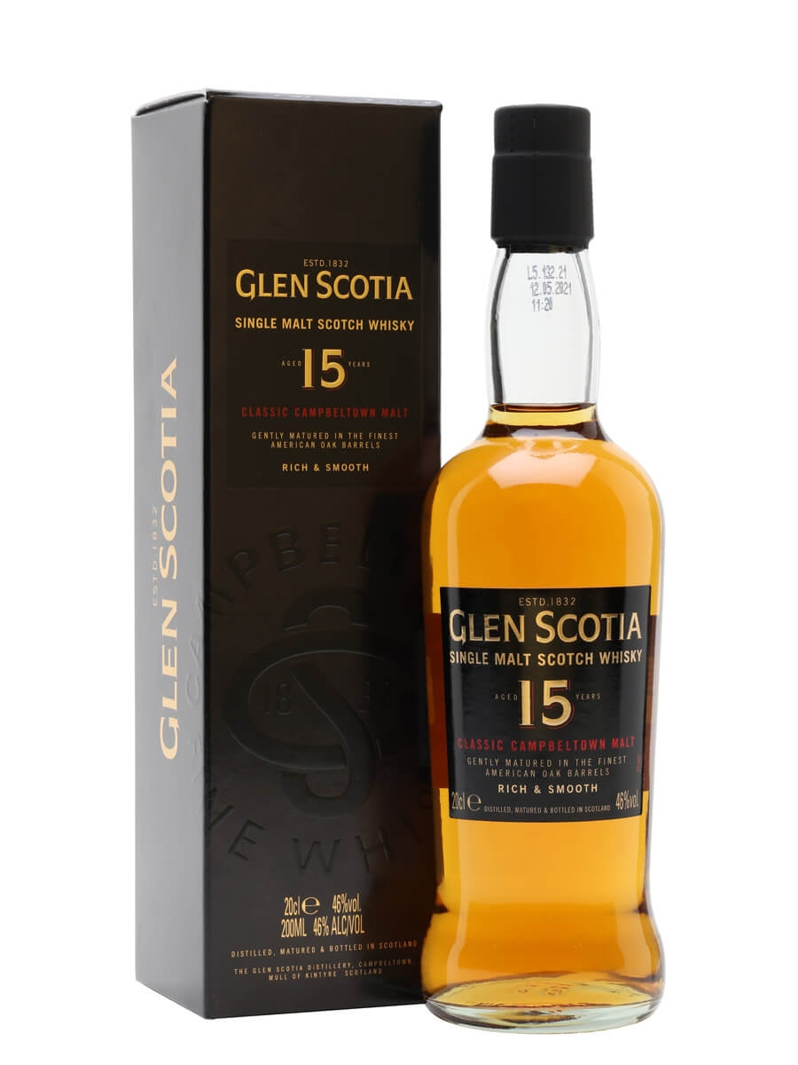 Glen Scotia 15 Year Old / Small Bottle