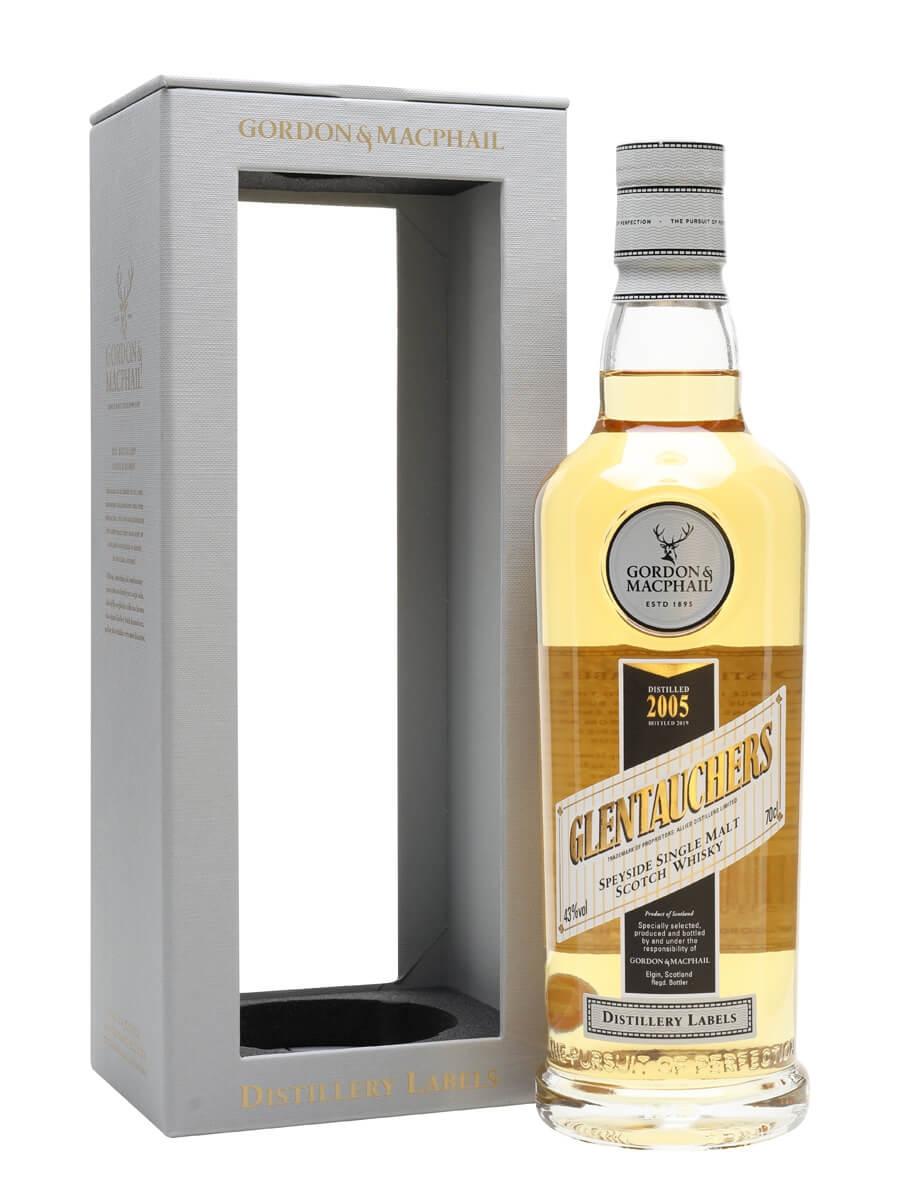 Glentauchers 2005 / Bot.2019 / G&M Distillery Labels