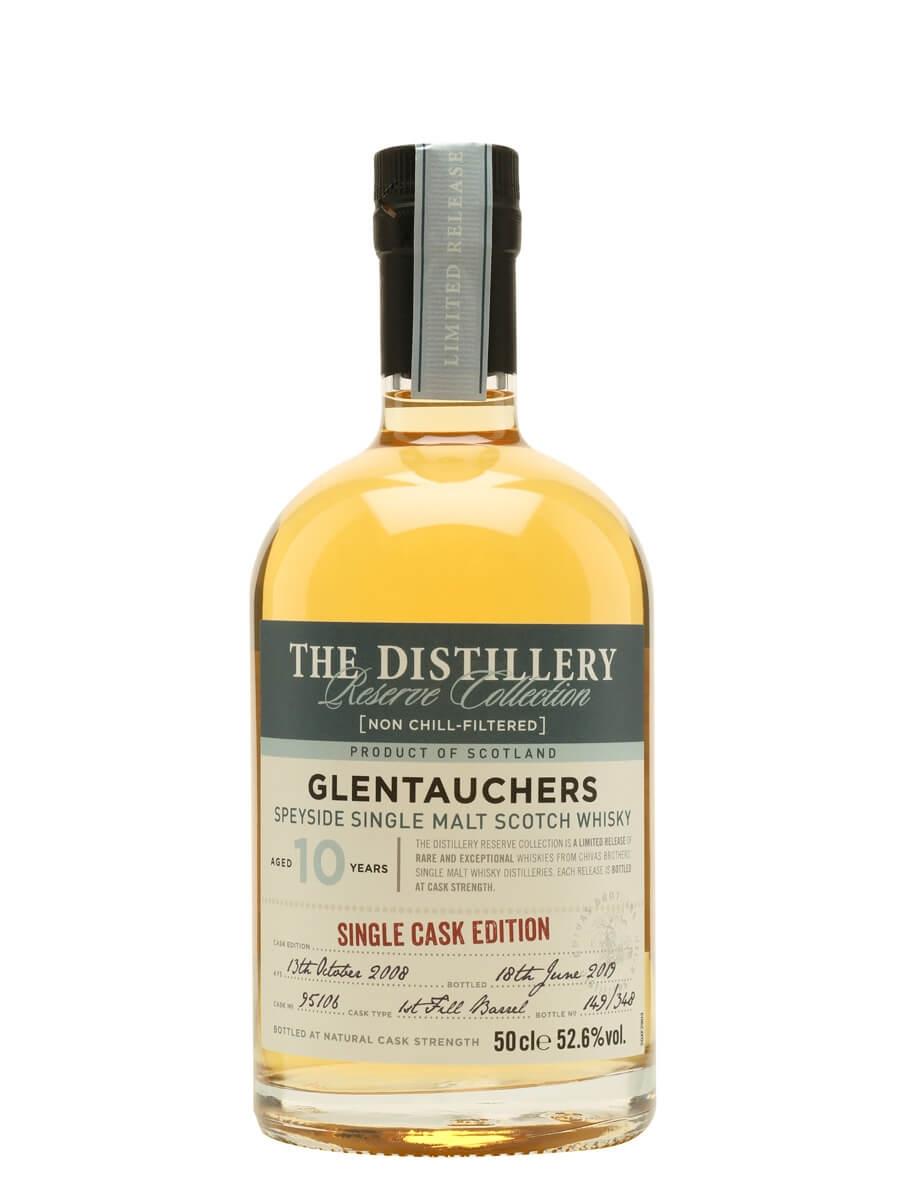 Glentauchers 2008 / 10 Year Old / Distillery Edition
