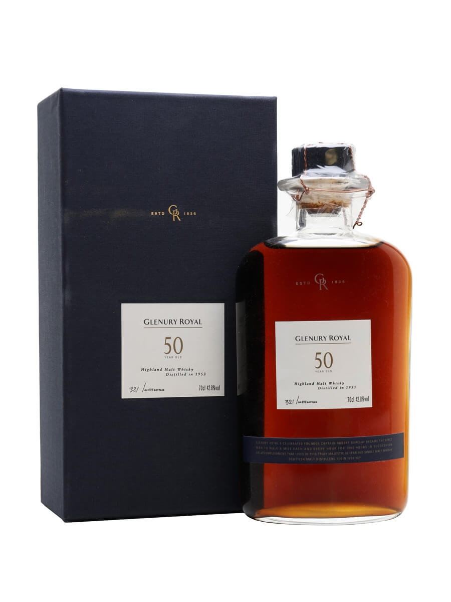 Glenury Royal 1953 / 50 Year Old / Sherry Cask