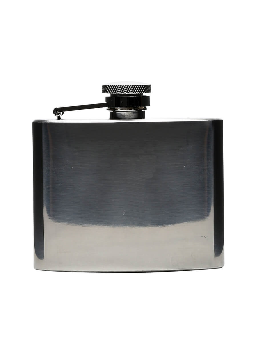 High Polished Stainless Steel Hip Flask / 110ml