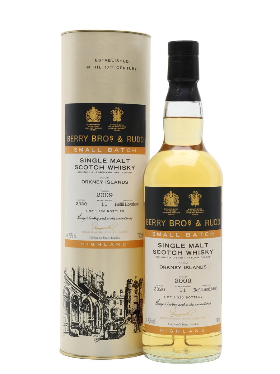 Orkney 2009 / 11 Year Old / Berry Bros Small Batch