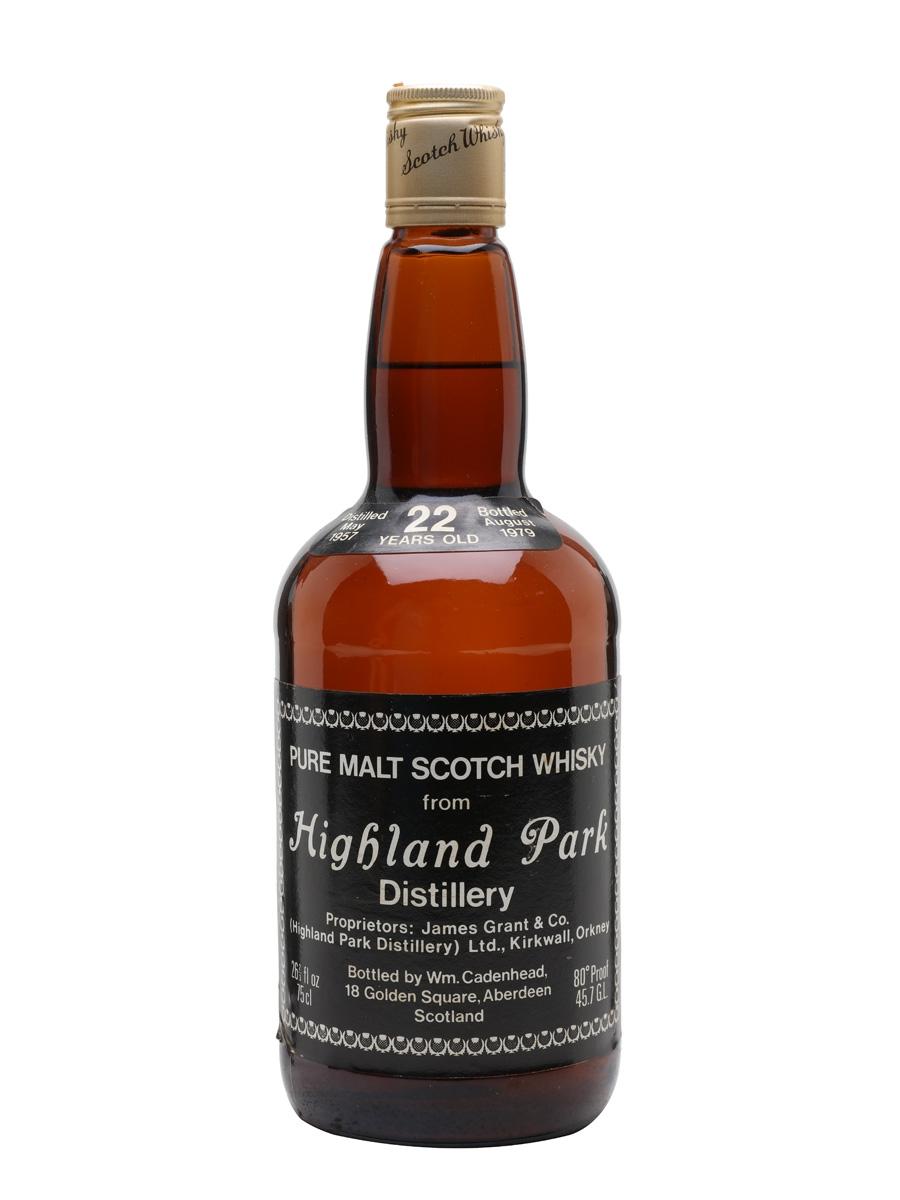 Highland Park 1957 / 22 Year Old / Cadenhead's