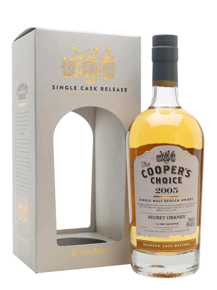 Secret Orkney 2005 / 15 Year Old / The Cooper's Choice