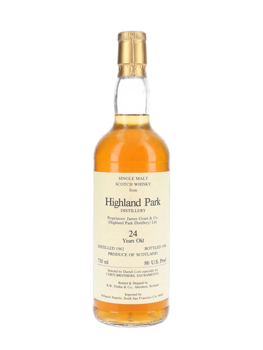 Highland Park 1962 / 24 Year Old / Corti Brothers