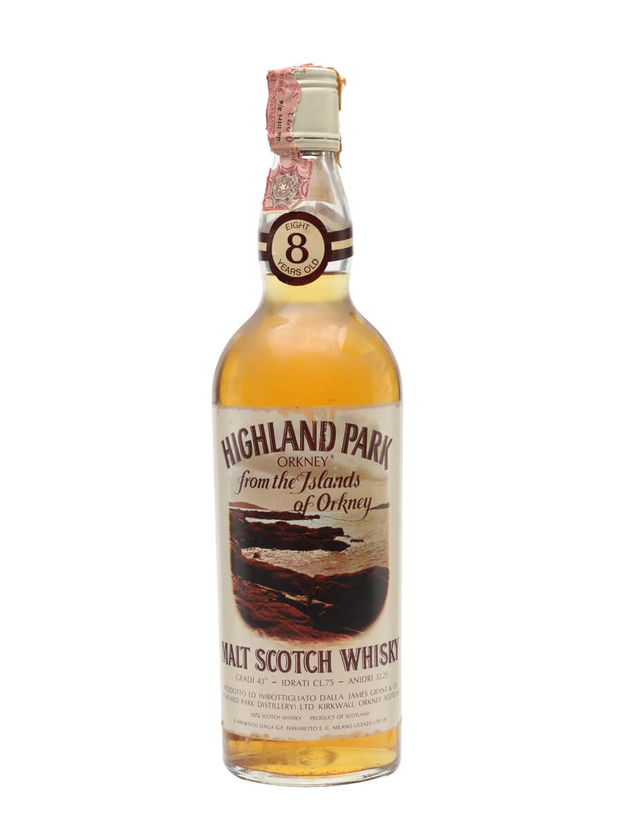 Highland Park 8 Year Old / Bot.1970s