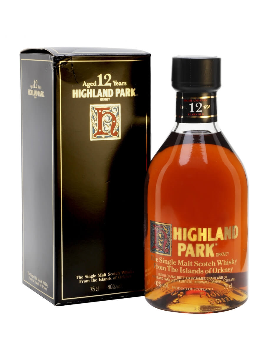 Highland Park 12 Year Old / Bot.1980s