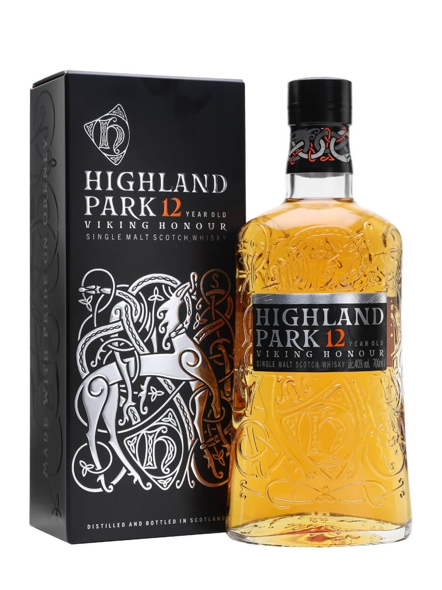 Image result for highland park 12 years viking honour whisky exchange