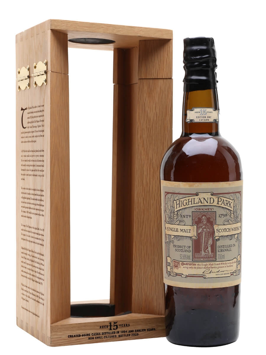 Highland Park Earl Magnus Edition One / 15 Year Old