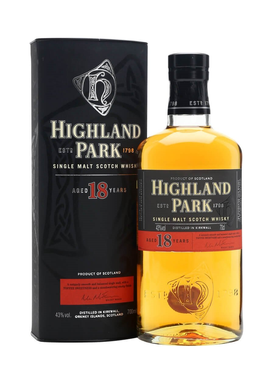 a7c24b89616 Highland Park 18 Year Old Scotch Whisky   The Whisky Exchange