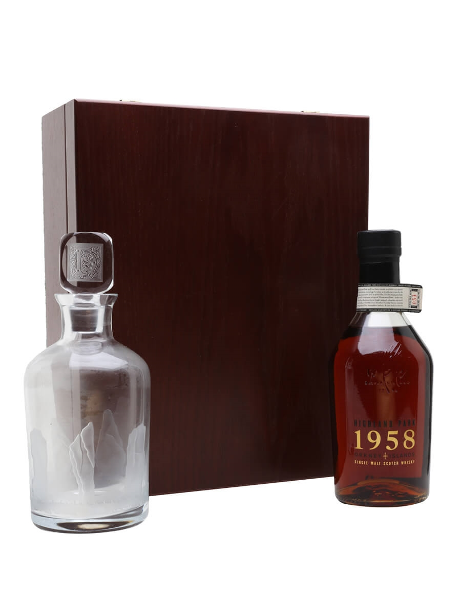 Highland Park 1958 / 40 Year Old + Crystal Decanter