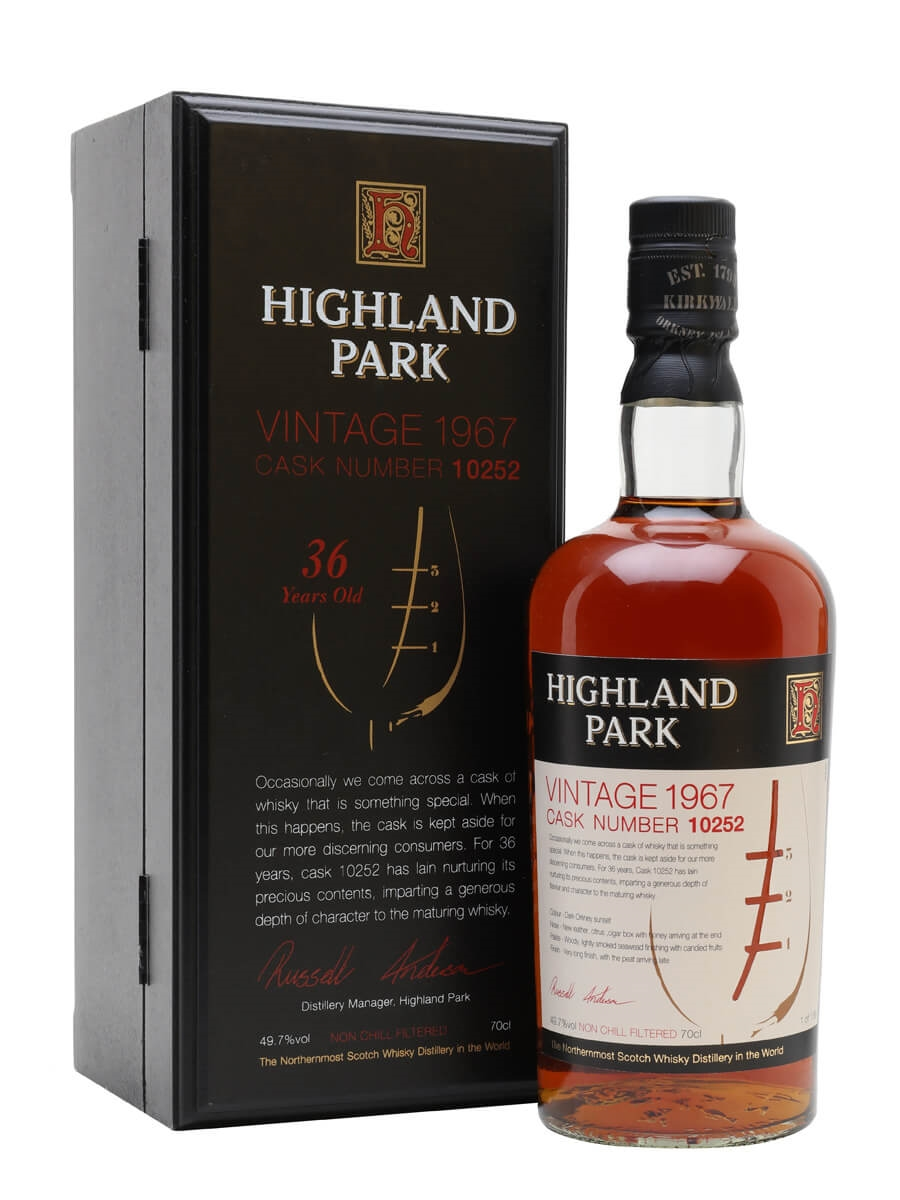 Highland Park 1967 / 36 Year Old
