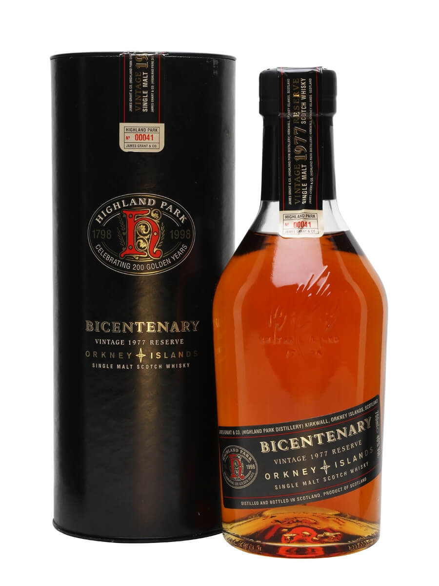 Highland Park 1977 / 21 Year Old / Bicentenary