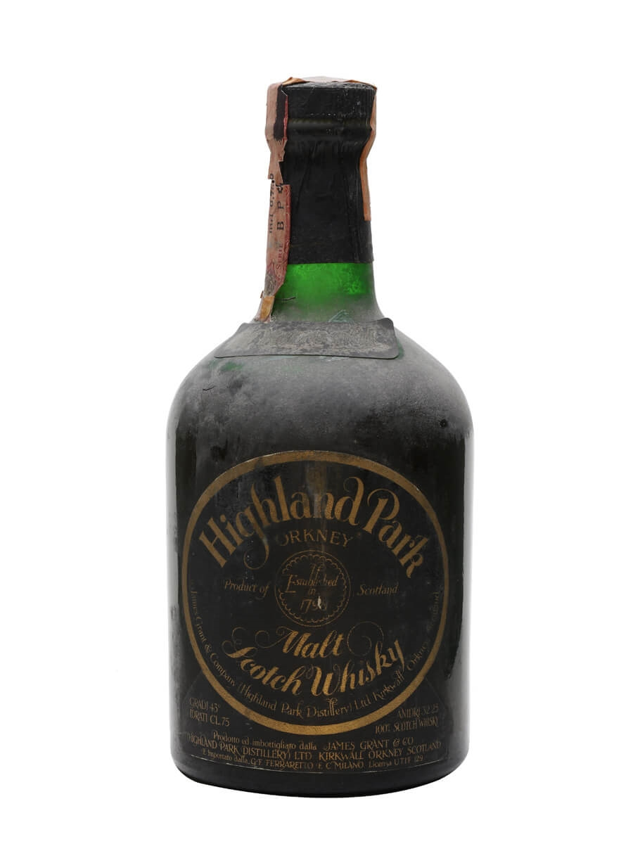 Highland Park 21 Year Old / Bot.1970s