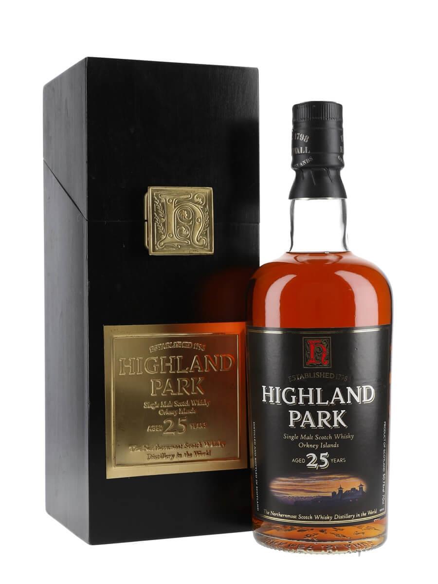 c56e0924e24 70cl   50.7%. Island Single Malt Scotch Whisky  Distillery Bottling. Highland  Park 25 Year Old   Bot.1990s
