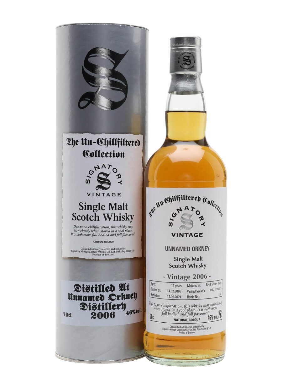 Unnamed Orkney 2006 / 15 Year Old / Signatory