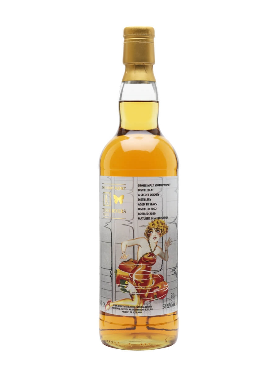 Secret Orkney 2002 / 18 Year Old / Three Rivers & The Whisky Agency