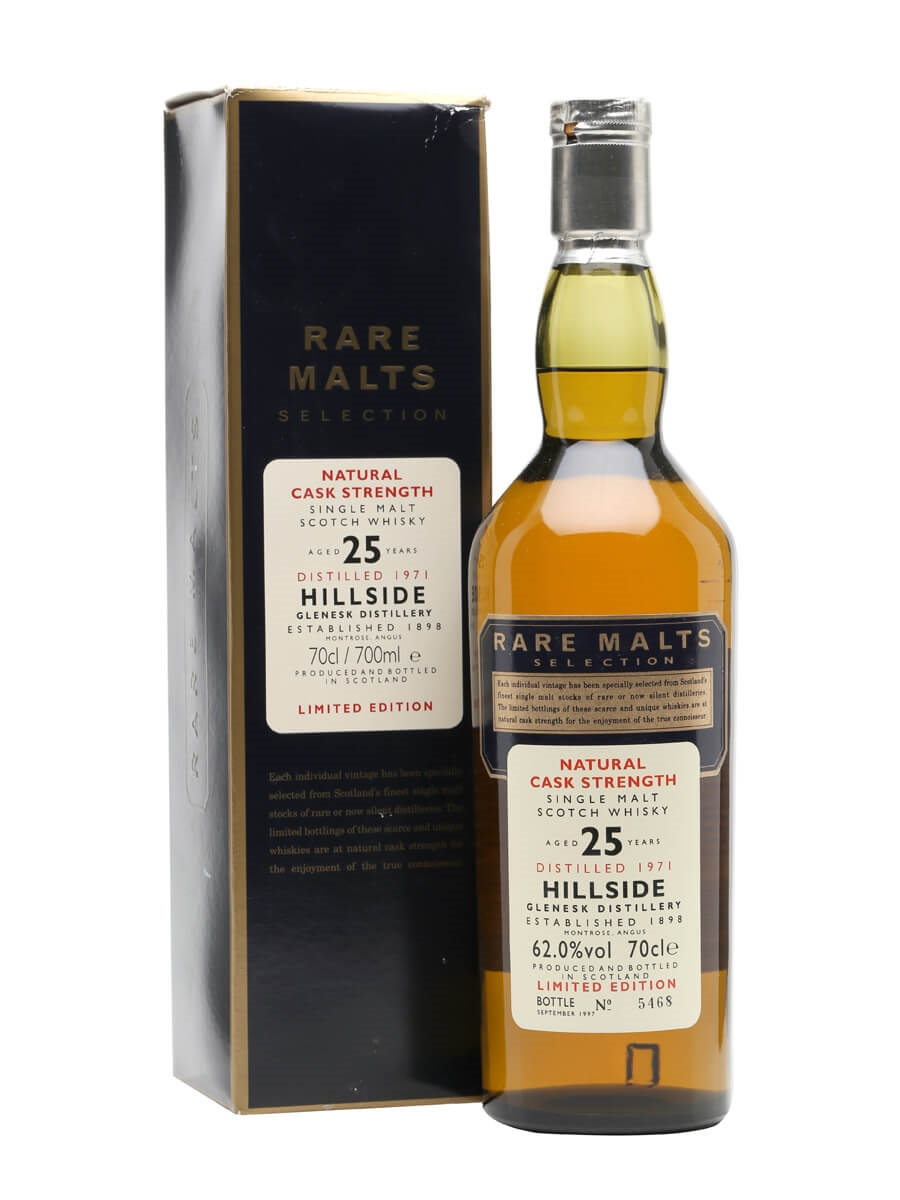 Hillside 1971 / 25 Year Old / Rare Malts