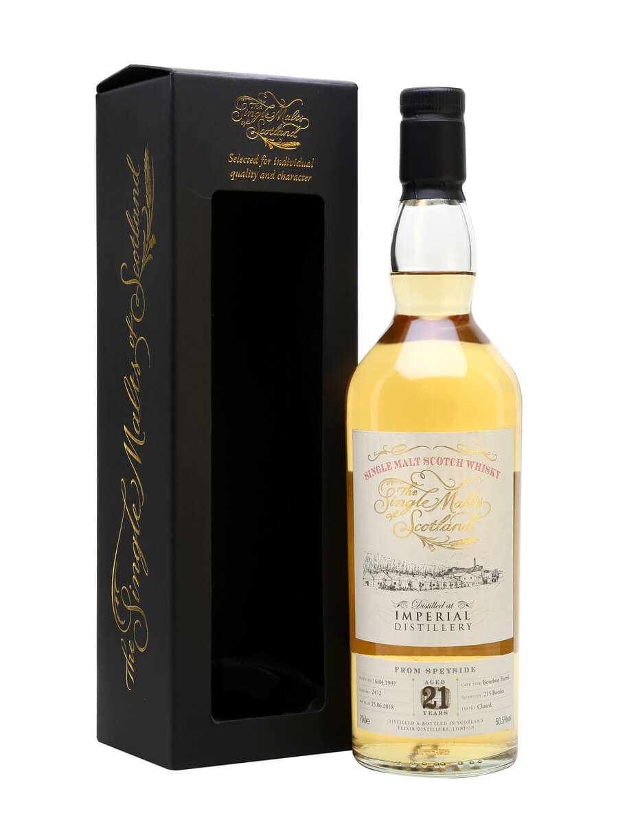Imperial 1997 / 21 Year Old / Single Malts of Scotland