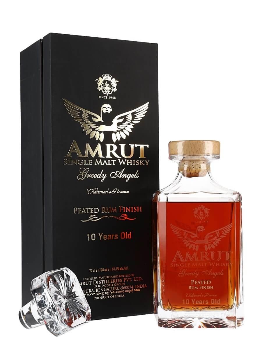 Amrut Greedy Angels 10 Year Old / Peated Rum Finish