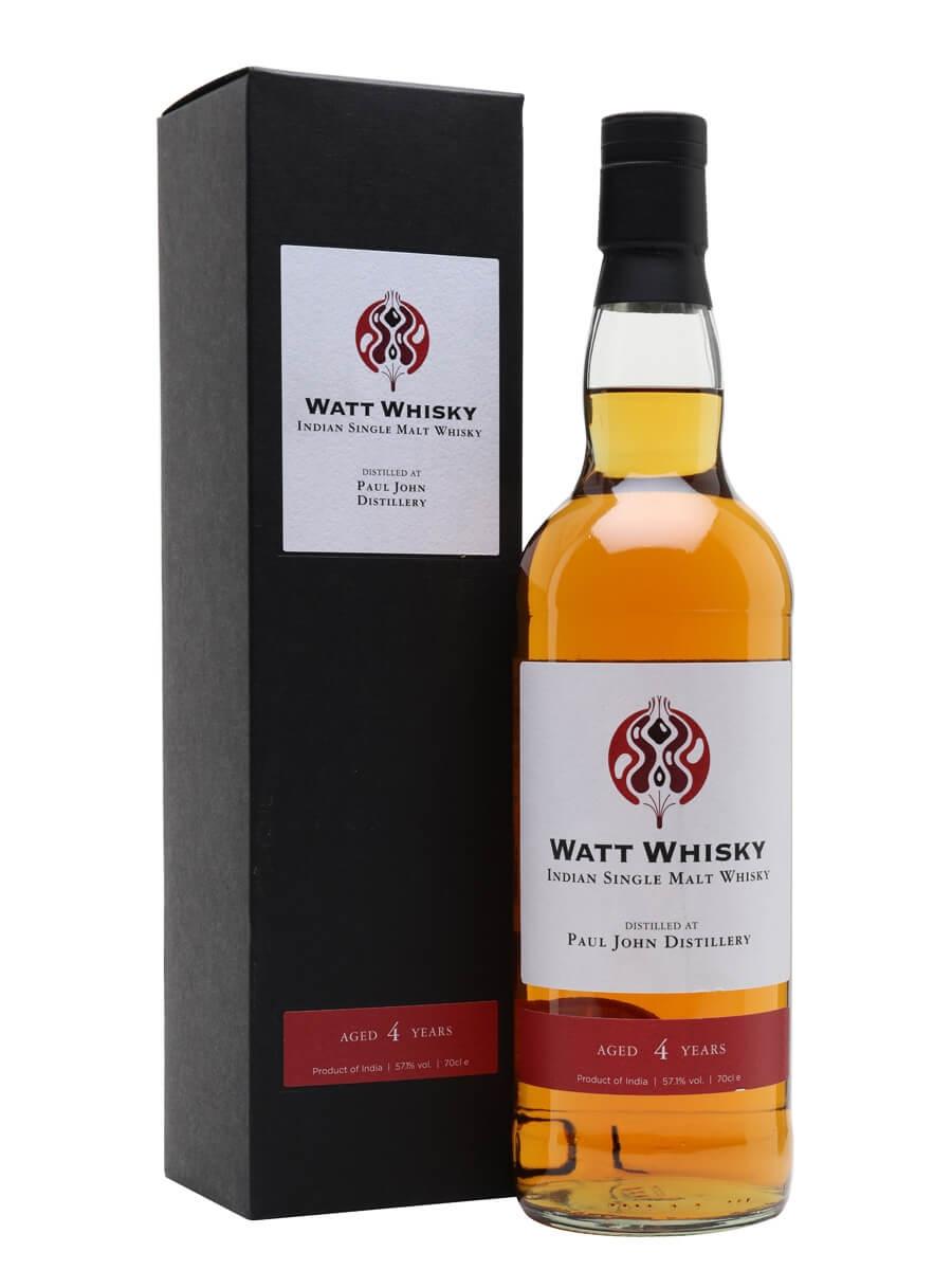 Paul John 2016 / 4 Year Old / Watt Whisky