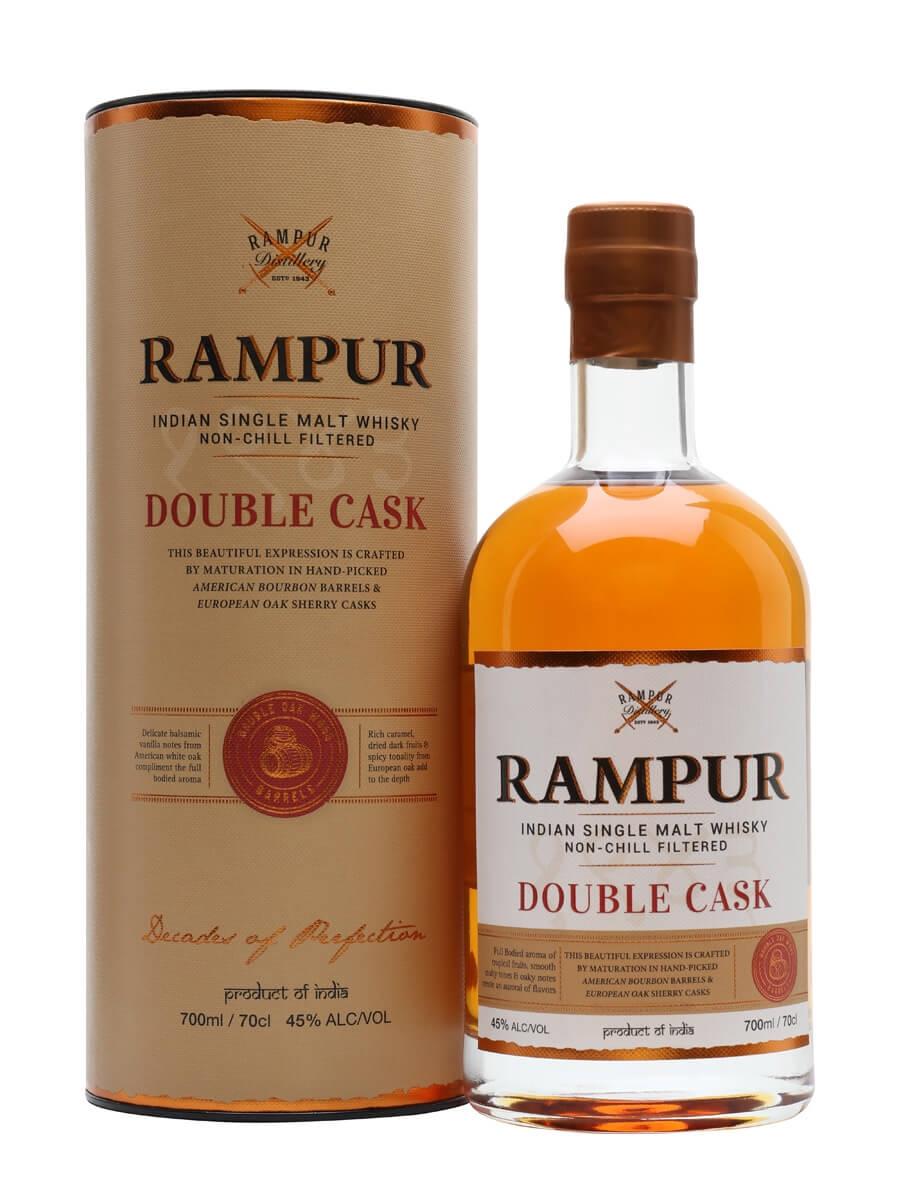Rampur Double Cask Single Malt Whisky