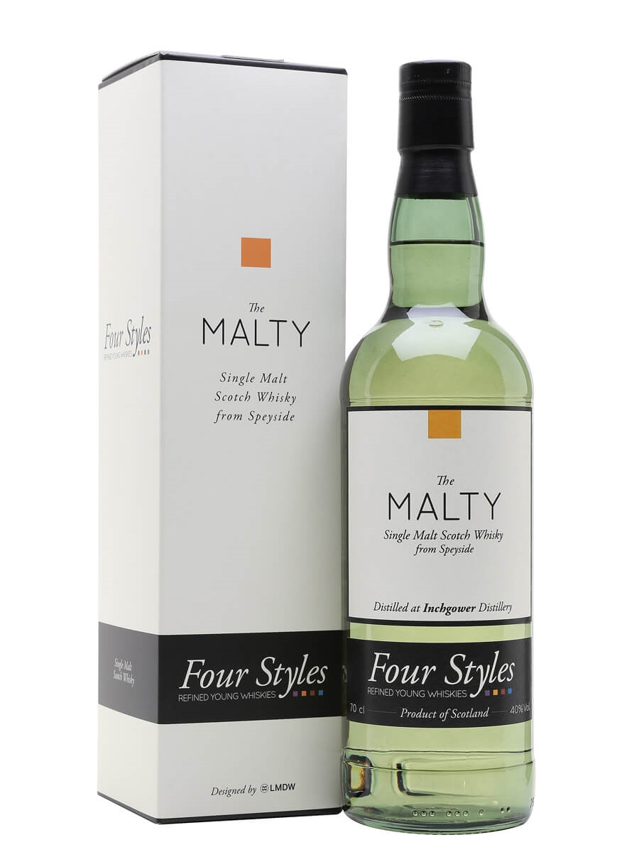 Inchgower 2013 / The Malty / Four Styles