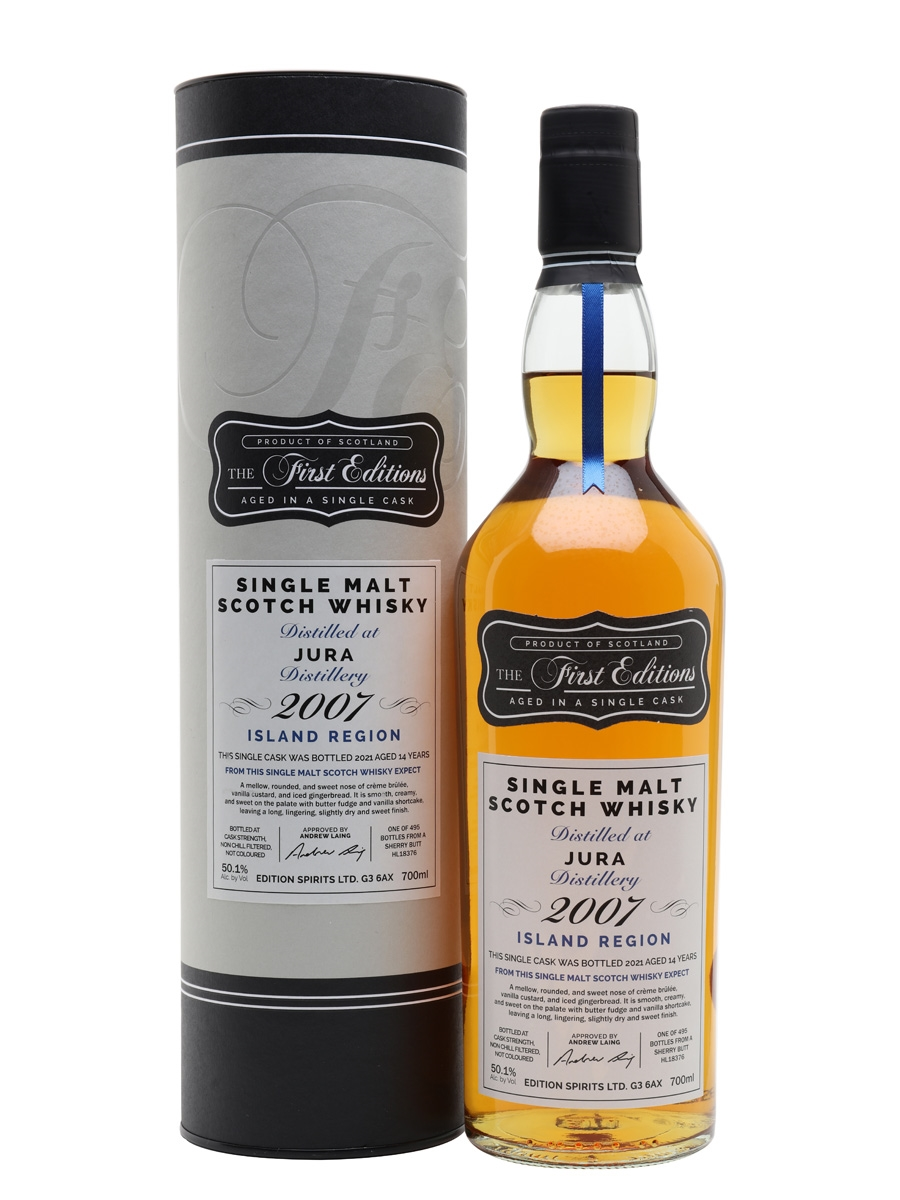 Isle of Jura 2007 / 14 Year Old / First Editions