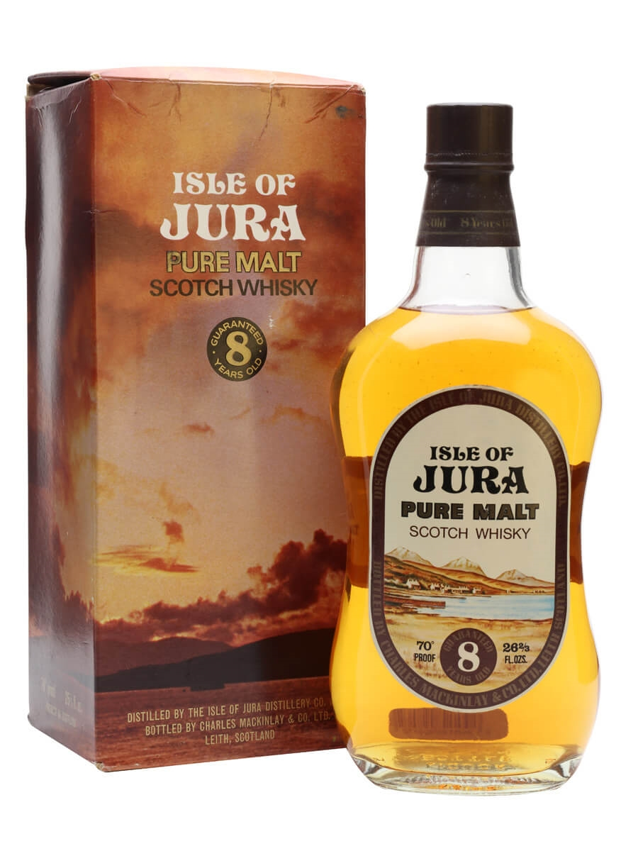 Isle of Jura 8 Year Old / Bot.1970s