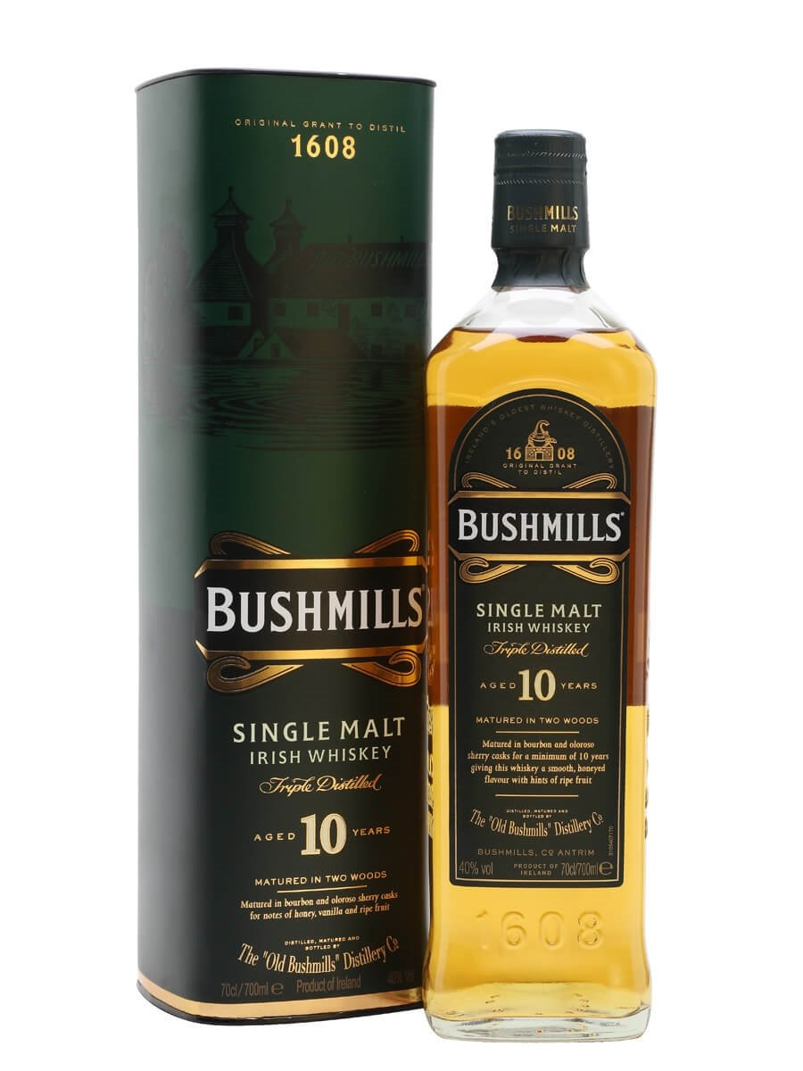 bushmills 10 year old the whisky exchange. Black Bedroom Furniture Sets. Home Design Ideas