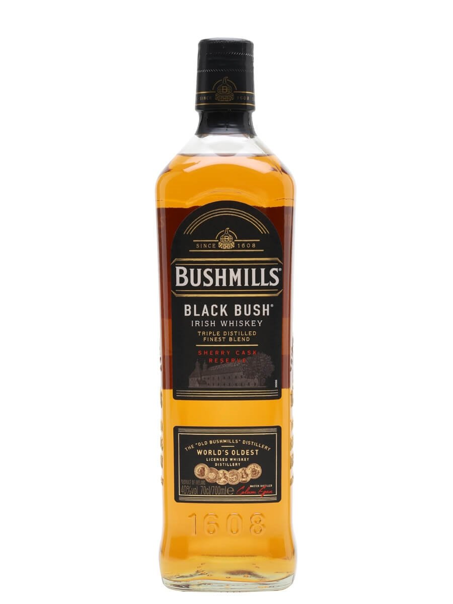 Litre Bushmills With  Glasses